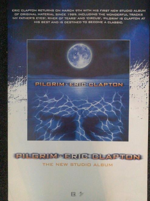 Eric Clapton Pilgrim Poster - Item # RAR9992543