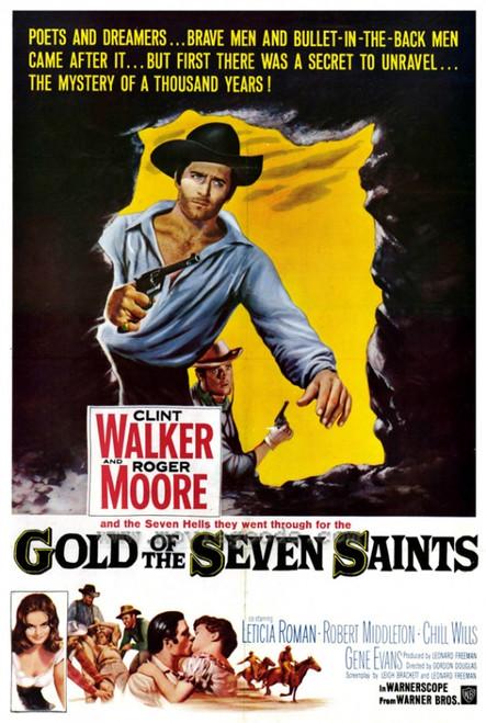 Gold of the 7 Saints Movie Poster Print (27 x 40) - Item # MOVGF7366