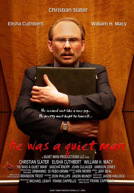 He Was a Quiet Man Movie Poster (11 x 17) - Item # MOVEI3788