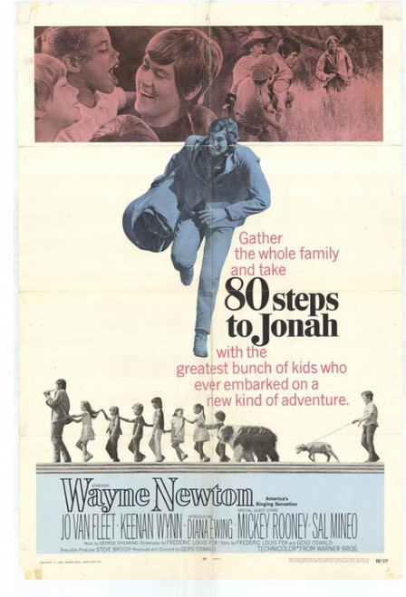 80 Steps to Jonah Movie Poster (11 x 17) - Item # MOVEF9201