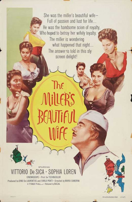 The Miller's Beautiful Wife Movie Poster (11 x 17) - Item # MOVGB43163