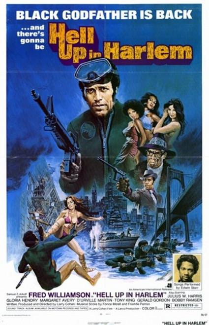 Hell Up in Harlem Movie Poster (11 x 17) - Item # MOV200834