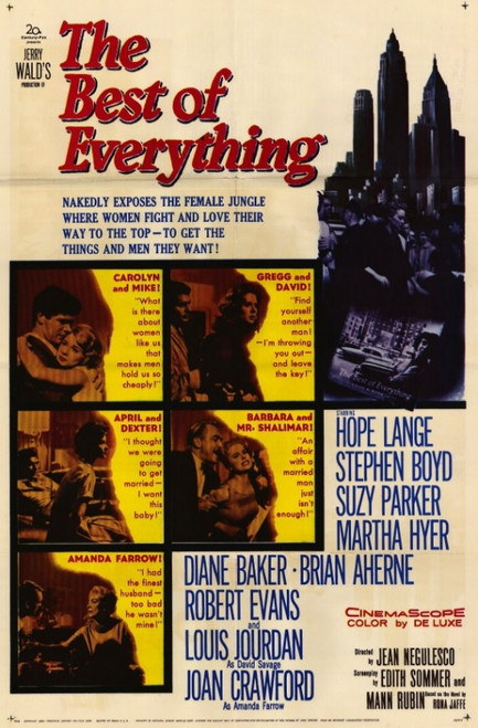 The Best of Everything Movie Poster (11 x 17) - Item # MOVCE1251
