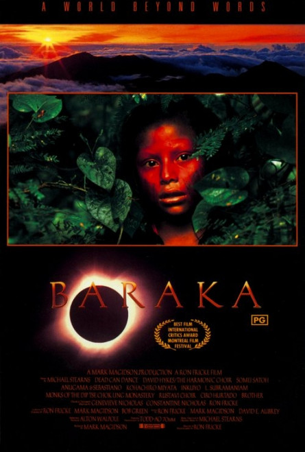 Baraka Movie Poster Print (27 x 40) - Item # MOVIH3744