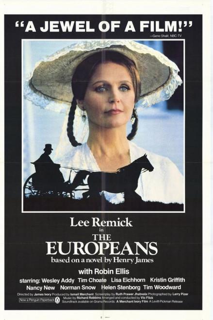 The Europeans Movie Poster Print (27 x 40) - Item # MOVIH5690