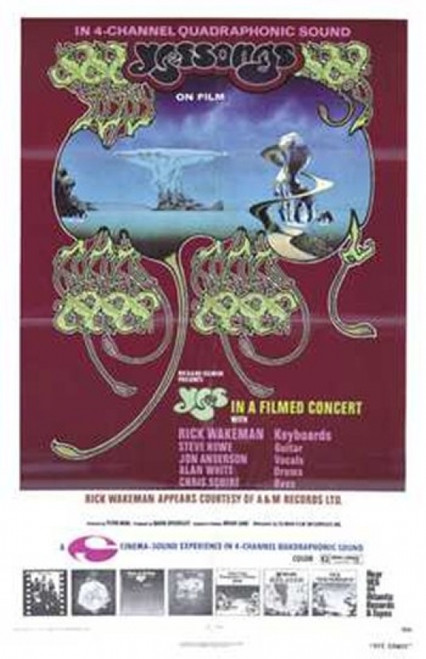 Yessongs Movie Poster (11 x 17) - Item # MOV209852