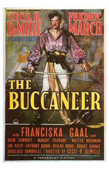The Buccaneer Movie Poster (11 x 17) - Item # MOV241677