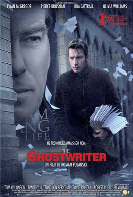 The Ghostwriter - style A (French) Movie Poster (11 x 17) - Item # MOV538874