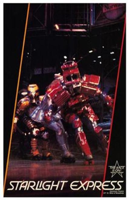 Starlight Express (Broadway Musical) Movie Poster (11 x 17) - Item # MOV256567