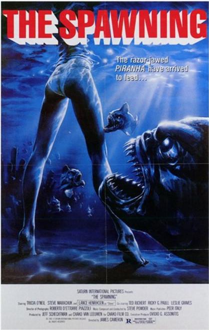 Piranha 2 the Spawning Movie Poster (11 x 17) - Item # MOV197347