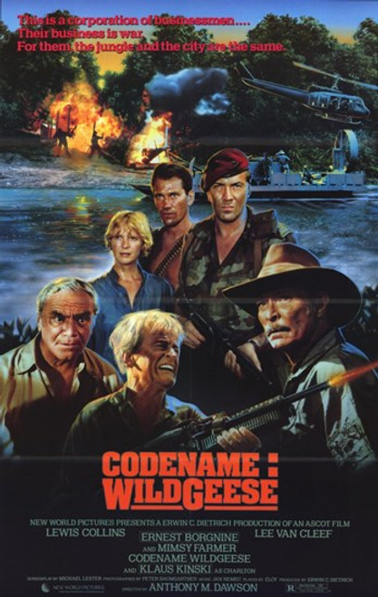 Code Name Wild Geese Movie Poster (11 x 17) - Item # MOV233134