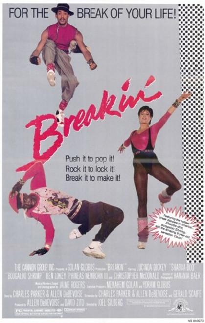 Breakin Movie Poster (11 x 17) - Item # MOV192814