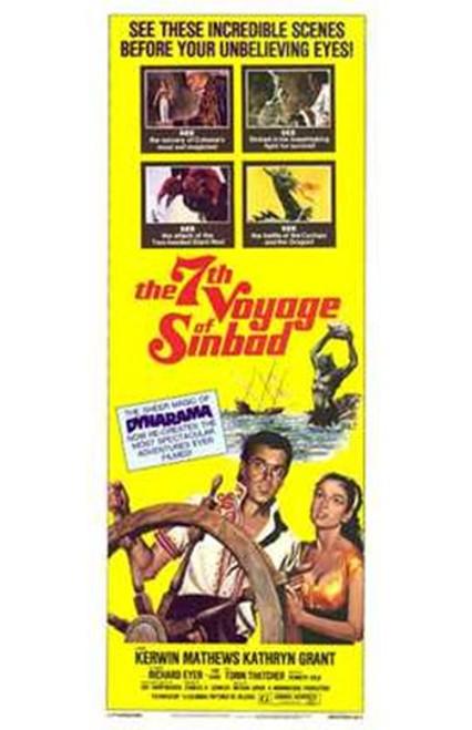 The Seventh Voyage of Sinbad Movie Poster (11 x 17) - Item # MOV221624