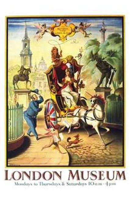 Britannia Visits the London Museum Movie Poster (11 x 17) - Item # MOV237584