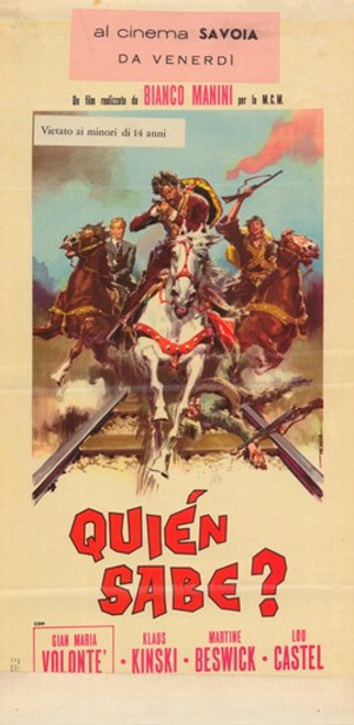 A Bullet for the General Movie Poster (11 x 17) - Item # MOV378050
