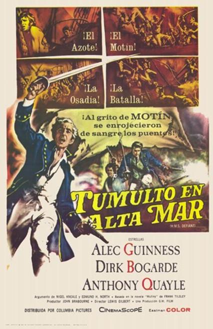 Hms Defiant Movie Poster (11 x 17) - Item # MOV228162