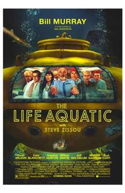The Life Aquatic with Steve Zissou Movie Poster (11 x 17) - Item # MOV237005