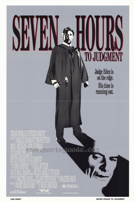 Seven Hours to Judgment Movie Poster Print (27 x 40) - Item # MOVIH2703
