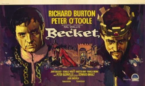 Becket Movie Poster (17 x 11) - Item # MOV235875