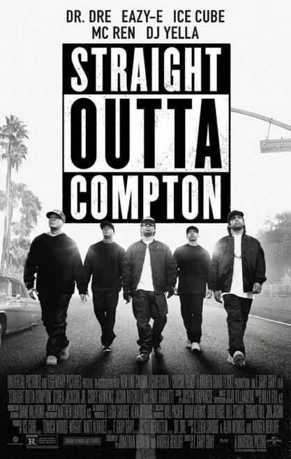 Straight Outta Compton Movie Poster (11 x 17) - Item # MOVCB30545
