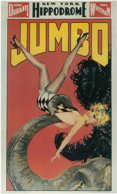 Jumbo (Broadway) Movie Poster (11 x 17) - Item # MOV407633