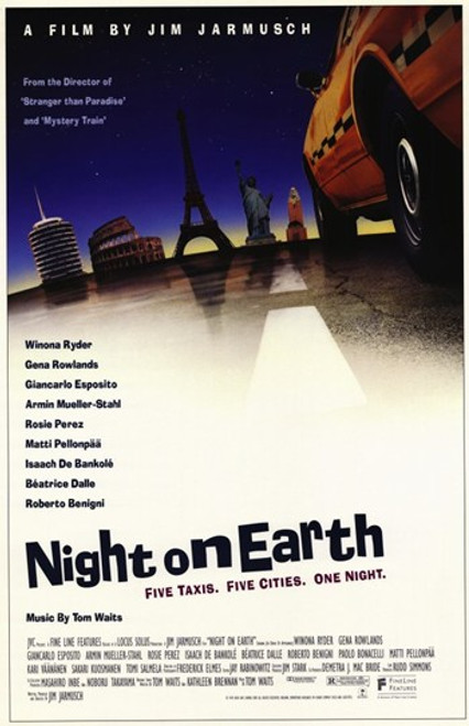 Night on Earth Movie Poster (11 x 17) - Item # MOV256001