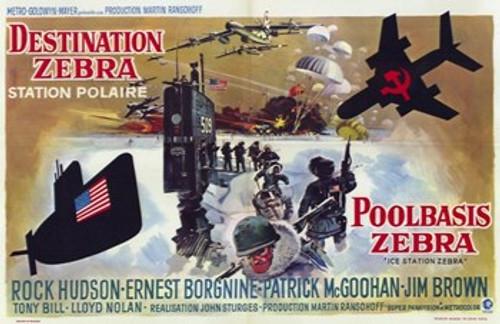 Ice Station Zebra Movie Poster (17 x 11) - Item # MOV206872
