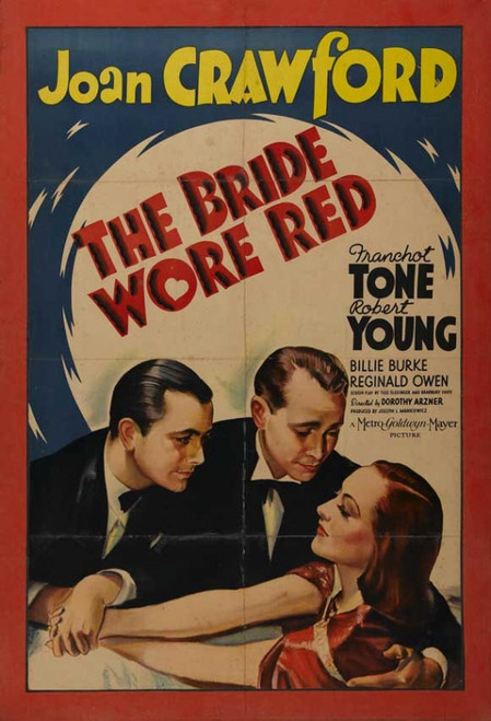 The Bride Wore Red Movie Poster Print (27 x 40) - Item # MOVAB49840