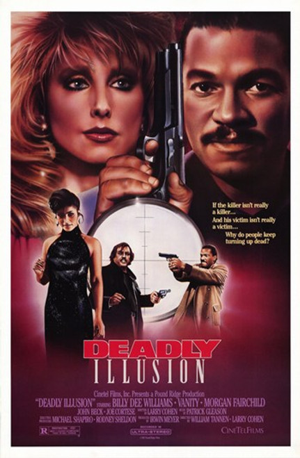Deadly Illusion Movie Poster (11 x 17) - Item # MOV203641