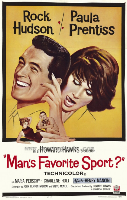 Man's Favorite Sport? Movie Poster Print (27 x 40) - Item # MOVEH4224