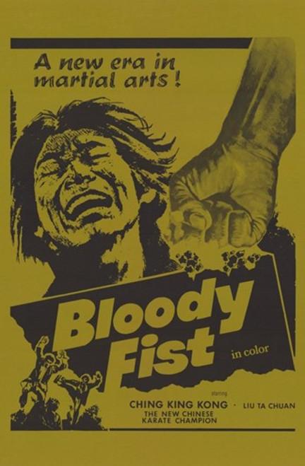 Bloody Fist Movie Poster (11 x 17) - Item # MOV255870