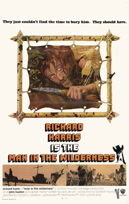 Man in the Wilderness Movie Poster (11 x 17) - Item # MOV232582