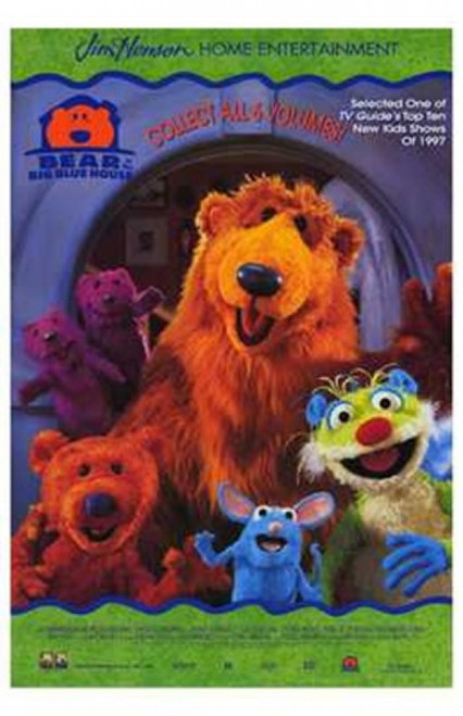 Bear in the Big Blue House Movie Poster (11 x 17) - Item # MOV213163