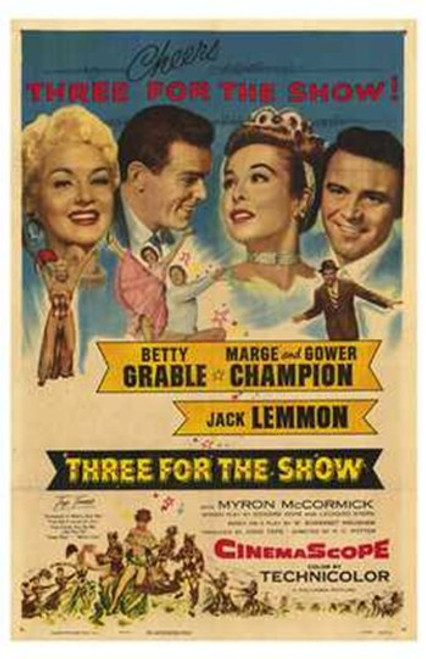 Three for the Show Movie Poster (11 x 17) - Item # MOV209803