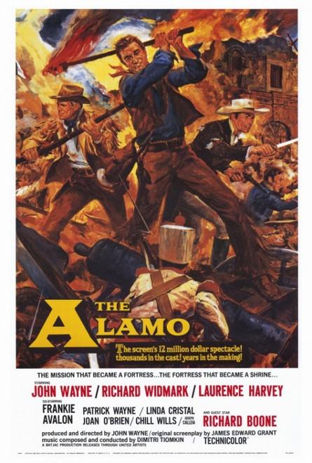 The Alamo Movie Poster Print (27 x 40) - Item # MOVEF3188