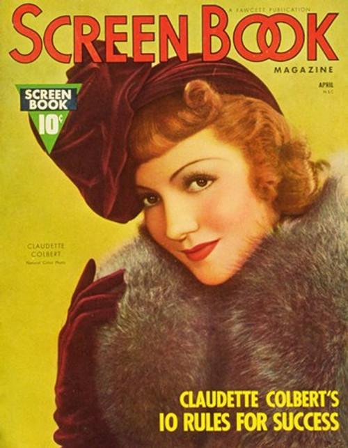 Claudette Colbert Movie Poster (11 x 17) - Item # MOV251728