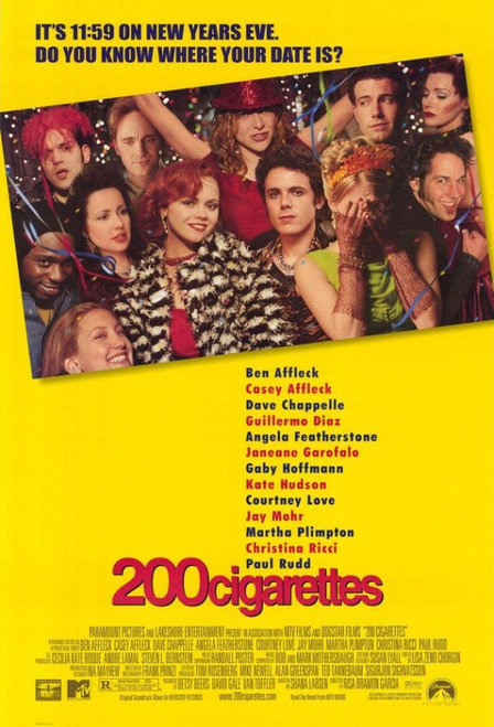 200 Cigarettes Movie Poster Print (27 x 40) - Item # MOVEG6808
