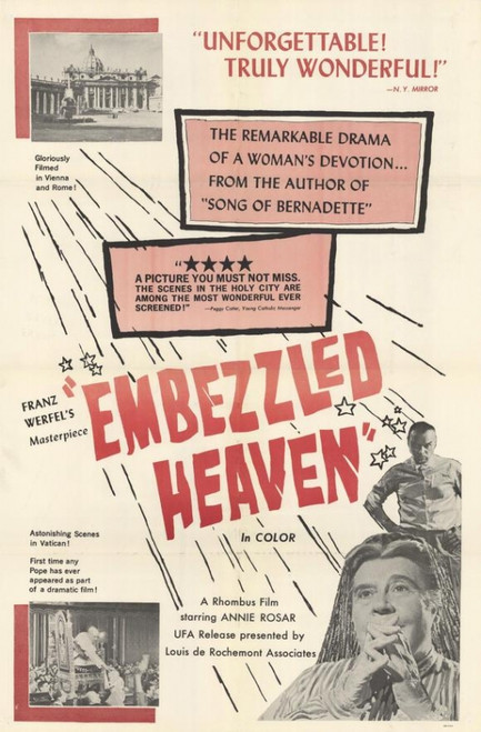 Embezzled Heaven Movie Poster Print (27 x 40) - Item # MOVIH2228