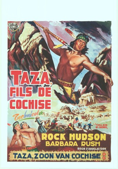 Taza Son Of Cochise Movie Poster (11 x 17) - Item # MOV412754