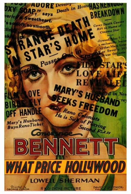 What Price Hollywood? Movie Poster Print (27 x 40) - Item # MOVGF4175
