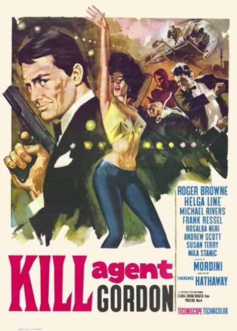 Kill Agent Gordon Movie Poster (11 x 17) - Item # MOV228221