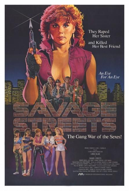 Savage Streets Movie Poster Print (27 x 40) - Item # MOVAH3696