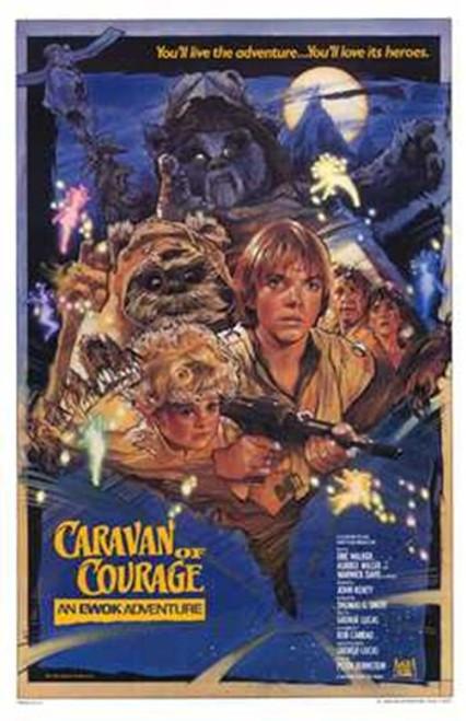 Ewok Adventure - Caravan of Courage Movie Poster (11 x 17) - Item # MOV196036