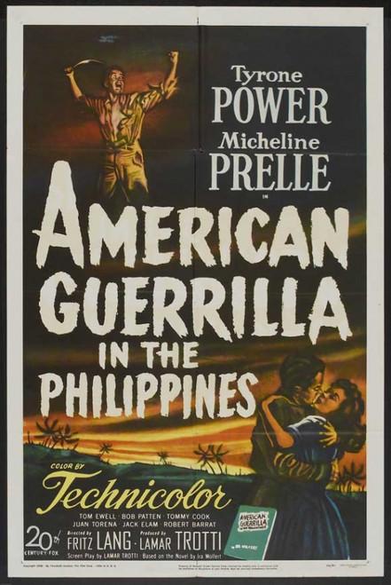 American Guerrilla in the Philippines Movie Poster Print (27 x 40) - Item # MOVIJ8761