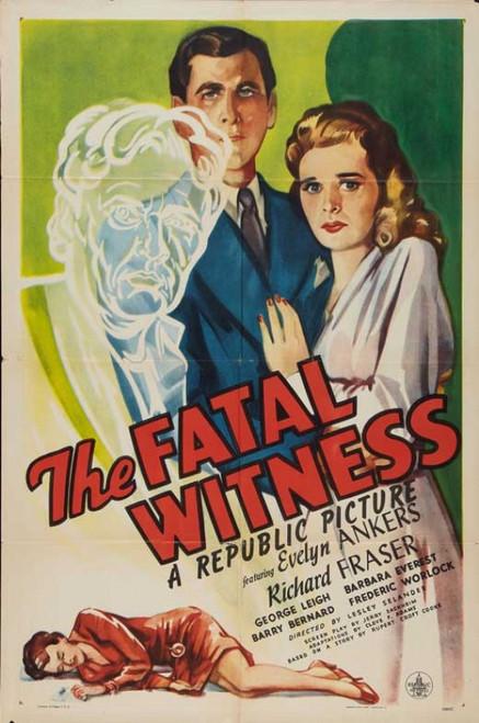 The Fatal Witness Movie Poster Print (27 x 40) - Item # MOVIB72984