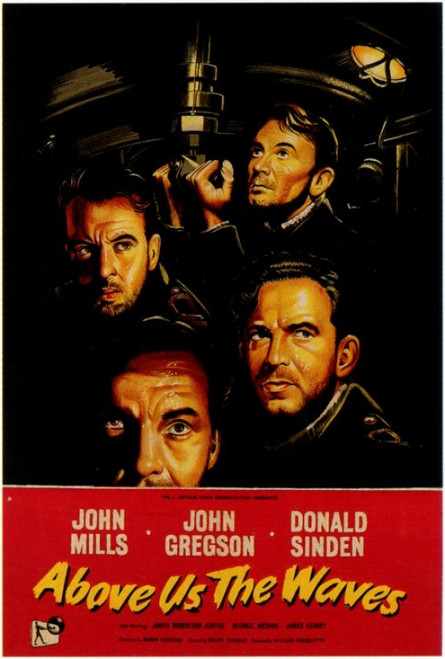 Above Us the Waves Movie Poster Print (27 x 40) - Item # MOVEF9191