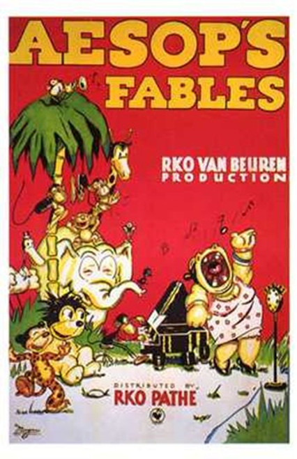 Aesop's Fables Movie Poster (11 x 17) - Item # MOV197788
