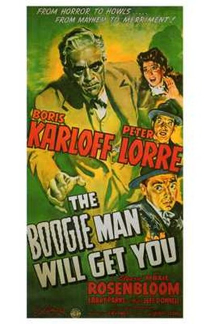 The Boogie Man Will Get You Movie Poster (11 x 17) - Item # MOV199102