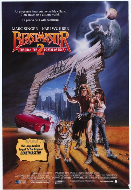 Beastmaster 2: Through the Portal of Time Movie Poster Print (27 x 40) - Item # MOVIF4967