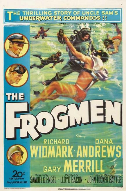 The Frogmen Movie Poster Print (27 x 40) - Item # MOVIJ1184